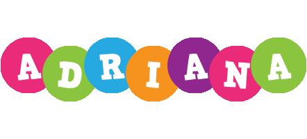 Adriana friends logo