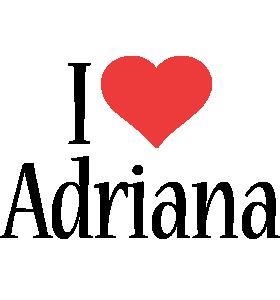 Adriana i-love logo