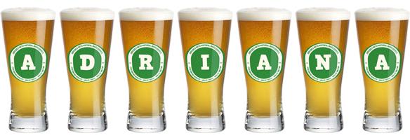 Adriana lager logo