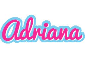 Adriana popstar logo