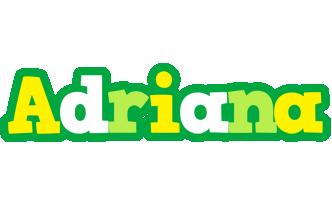 Adriana soccer logo