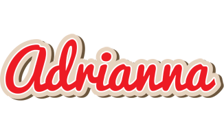Adrianna chocolate logo