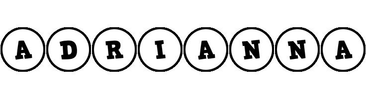 Adrianna handy logo