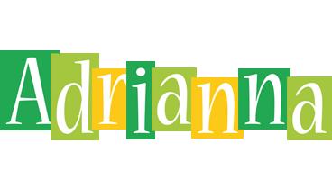 Adrianna lemonade logo