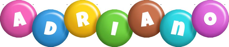 Adriano candy logo