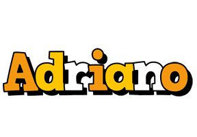 Adriano cartoon logo