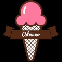 Adriano premium logo