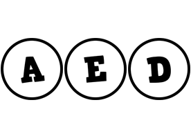 Aed handy logo