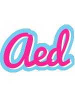 Aed popstar logo