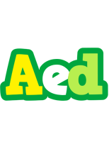 Aed soccer logo