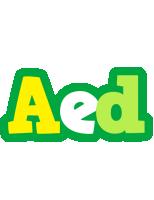Aed soccer logo
