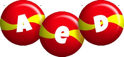 Aed spain logo