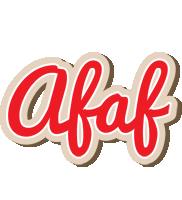 Afaf chocolate logo
