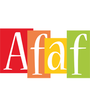Afaf colors logo
