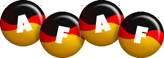 Afaf german logo