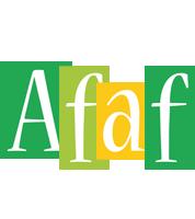 Afaf lemonade logo