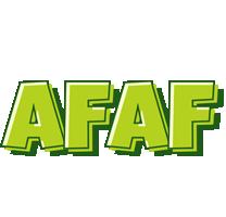 Afaf summer logo