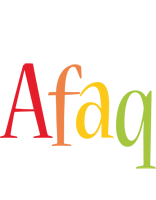 Afaq birthday logo