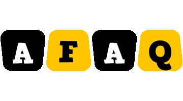 Afaq boots logo