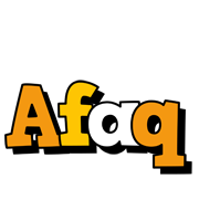 Afaq cartoon logo