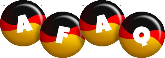 Afaq german logo