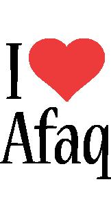 Afaq i-love logo