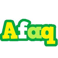 Afaq soccer logo