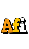 Afi cartoon logo