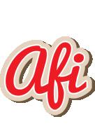 Afi chocolate logo