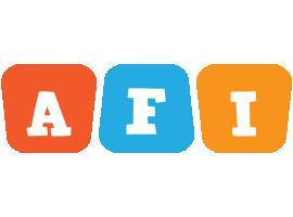 Afi comics logo