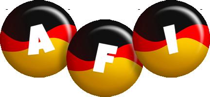 Afi german logo
