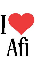 Afi i-love logo