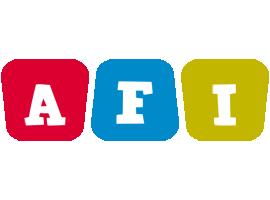 Afi kiddo logo