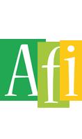 Afi lemonade logo