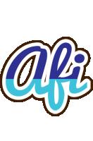 Afi raining logo