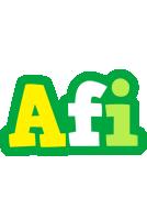 Afi soccer logo