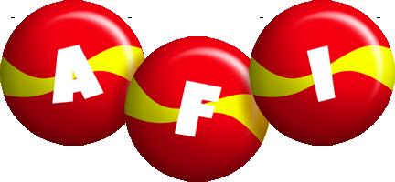 Afi spain logo