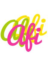 Afi sweets logo