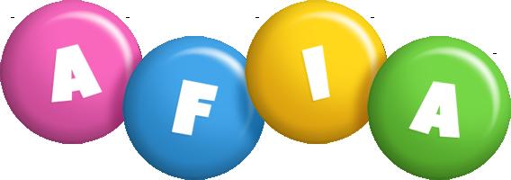 Afia candy logo