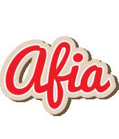 Afia chocolate logo