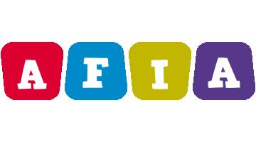 Afia daycare logo