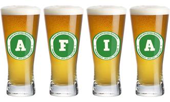 Afia lager logo