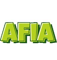 Afia summer logo