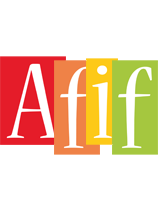 Afif colors logo