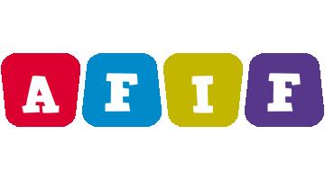 Afif kiddo logo