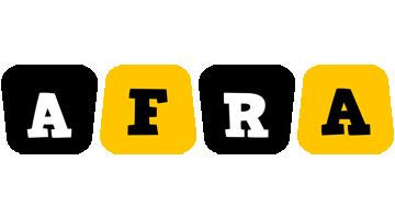 Afra boots logo