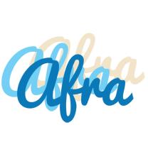 Afra breeze logo