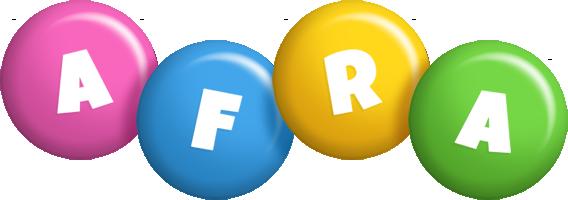 Afra candy logo