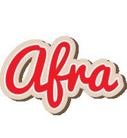 Afra chocolate logo