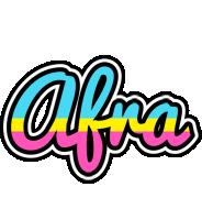 Afra circus logo